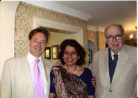 The Composer with Patricia Rozario and John Joubert