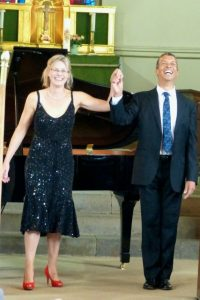 Susie Allan and Roderick Williams