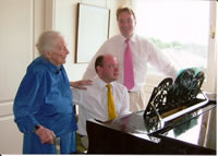 Ian Venables with Graham Lloyd and Lady Bliss